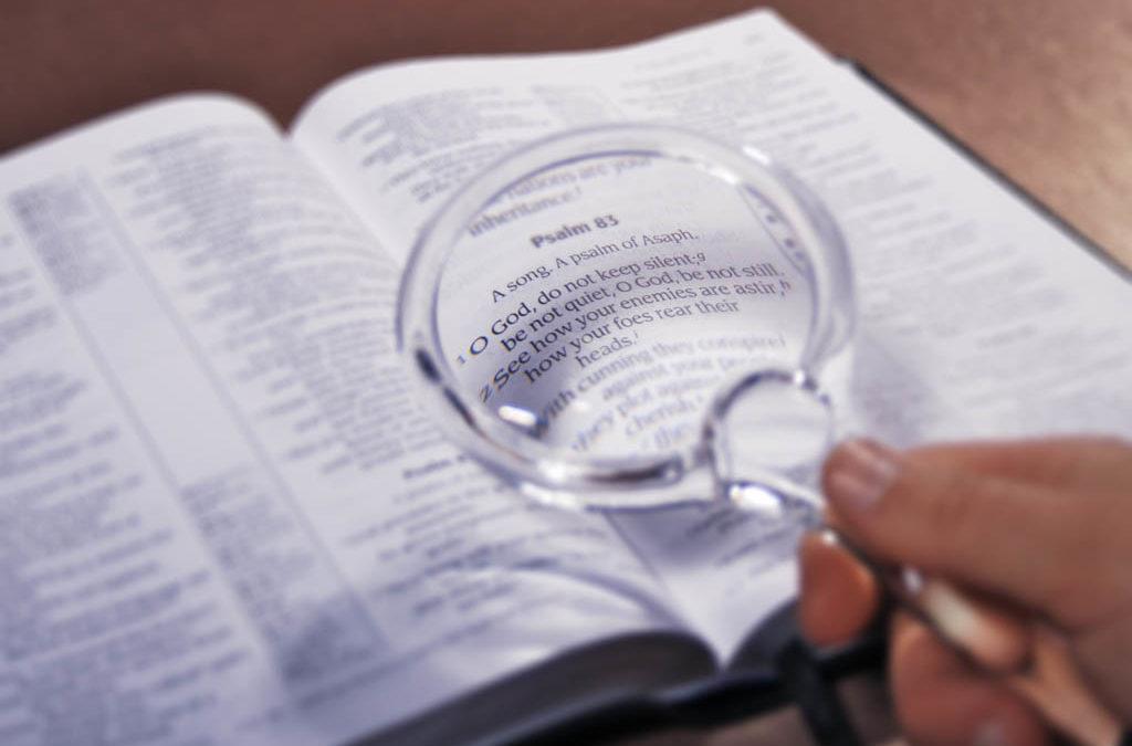 Cómo buscar textos en la Biblia?