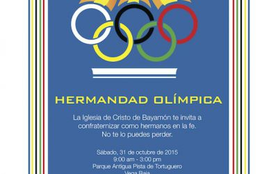 Invitación III Confraternización Bayamon 2015