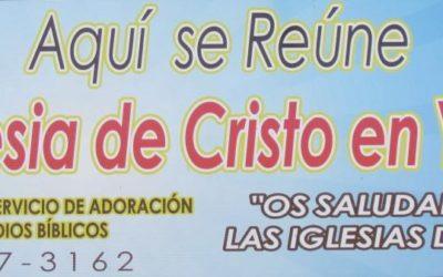 Primer Aniversario Iglesia de Cristo en Yauco