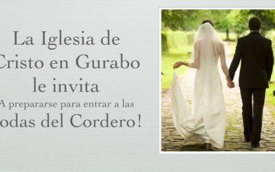 Gurabo te invita a las bodas del Cordero