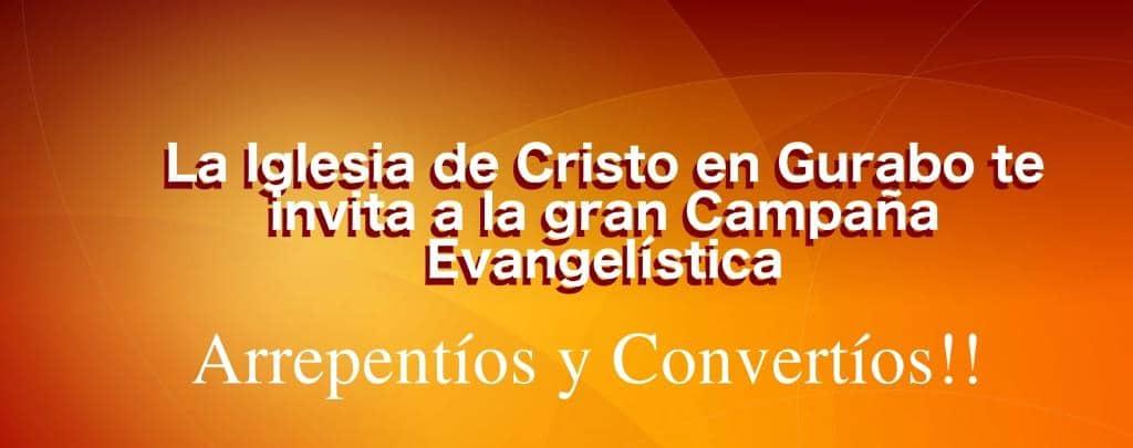 Campaña Evangelística Guarabo 2016